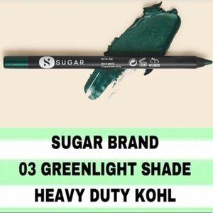 🆕 SUGAR khol eyeliner in Green Light